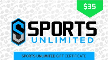 $35 Sports Unlimited Gift Certificate