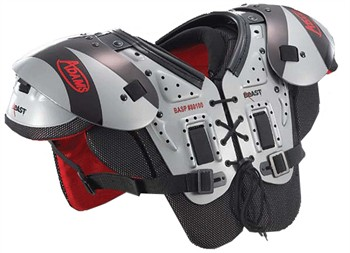Adams Youth Beast Multi-Purpose Football Shoulder Pads