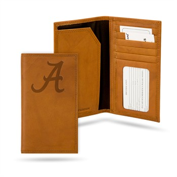 Alabama Crimson Tide Leather Roper Wallet
