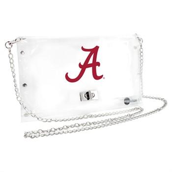 Alabama Crimson Tide NCAA Clear Envelope Purse