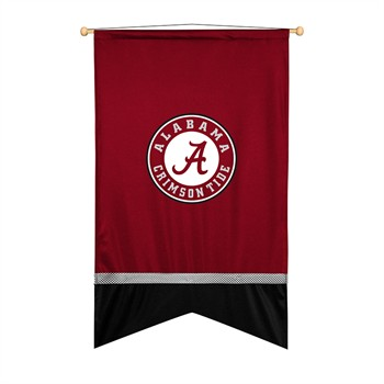 Alabama Crimson Tide Sidelines Wall Flag