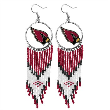 Arizona Cardinals Dreamcatcher Earrings