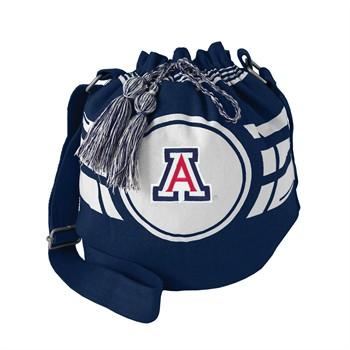 Arizona Wildcats Ripple Drawstring Bucket Bag
