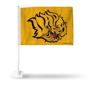 Arkansas-Pine Bluff Golden Lions Car Flag