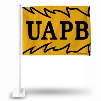 Arkansas-Pine Bluff Golden Lions College Car Flag