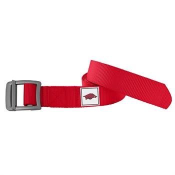 Arkansas Razorbacks Light Red Field Belt