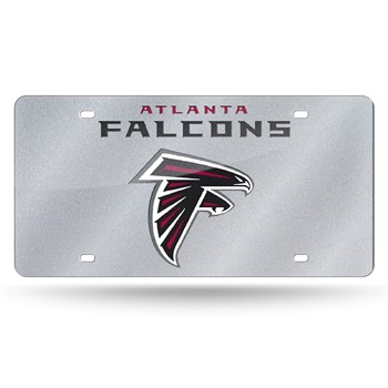 Atlanta Falcons Bling License Plate
