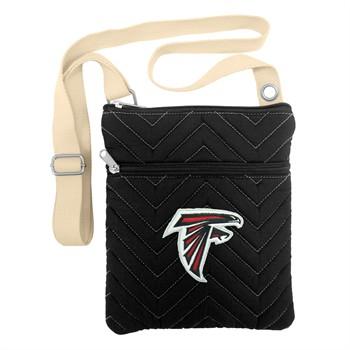 Atlanta Falcons Chevron Stitch Crossbody Bag