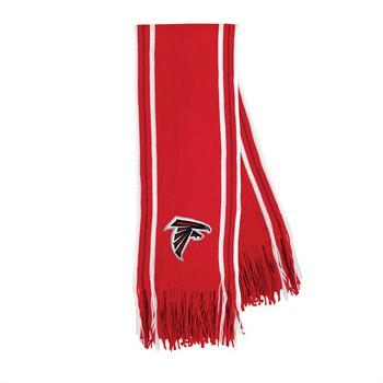 Atlanta Falcons Stripe Fringe Scarf