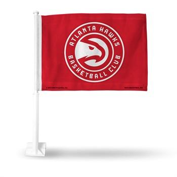 Atlanta Hawks NBA Car Flag