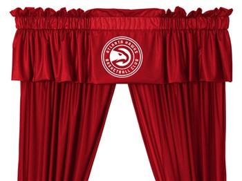 Atlanta Hawks Window Valance