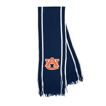 Auburn Tigers Stripe Fringe Scarf