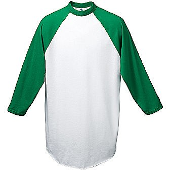 Augusta 3 4 sleeve raglan men 39 s custom baseball jersey for Custom raglan baseball shirt