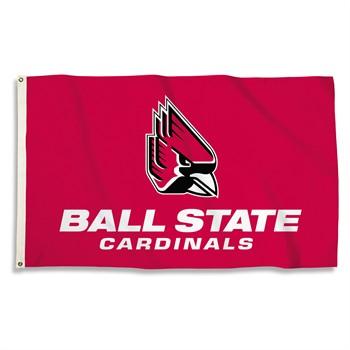 Ball State Cardinals 3' x 5' Flag