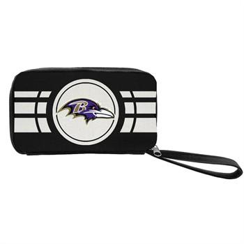 Baltimore Ravens Ripple Zip Wallet
