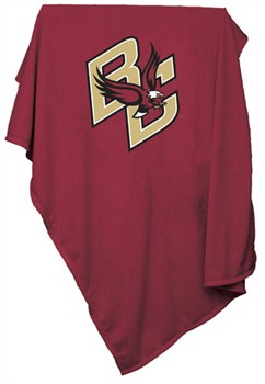 Boston College Eagles Red Sweatshirt Blanket
