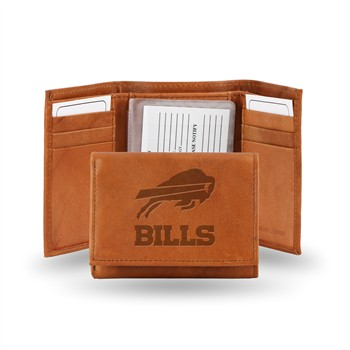 Buffalo Bills NFL Embossed Tri-Fold Wallet
