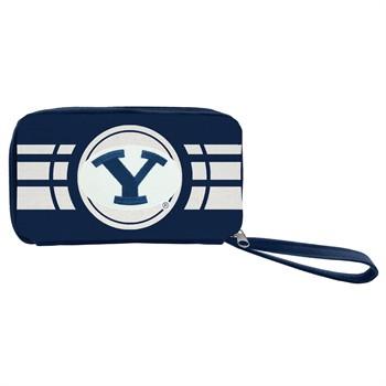 BYU Cougars Ripple Zip Wallet