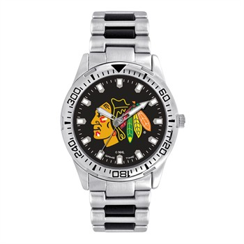 Chicago Blackhawks Men's Heavy Hitter Watch
