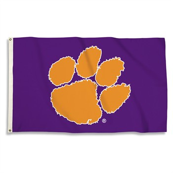 Clemson Tigers Purple 3' x 5' Flag