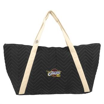 Cleveland Cavaliers Chevron Stitch Weekender Bag