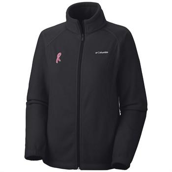 Columbia Tested Tough in Pink Benton Springs Full Zip Women's Jacket