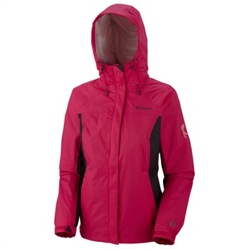 Columbia Tested Tough in Pink Women's Rain Jacket