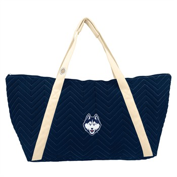 Connecticut Huskies Chevron Stitch Weekender Bag
