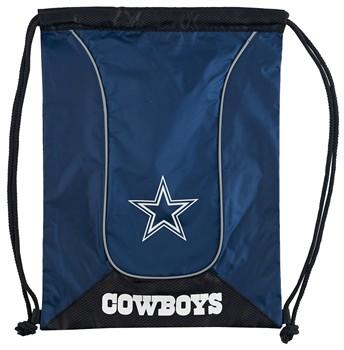 Dallas Cowboys Doubleheader Drawstring Bag