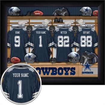 Dallas Cowboys Locker Room Wood