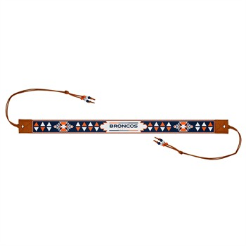 Denver Broncos Beaded Headwrap