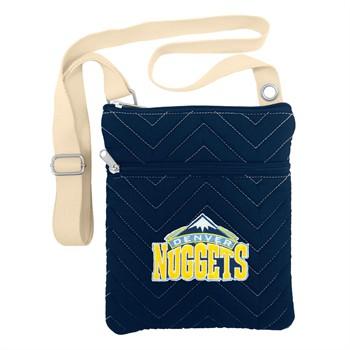 Denver Nuggets Chevron Stitch Crossbody Bag