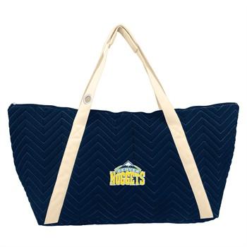 Denver Nuggets Chevron Stitch Weekender Bag