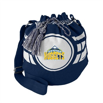 Denver Nuggets Ripple Drawstring Bucket Bag