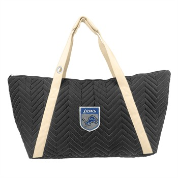 Detroit Lions Crest Chevron Weekender Bag