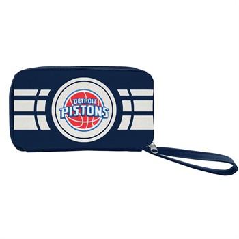 Detroit Pistons Ripple Zip Wallet