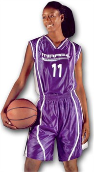 Alleson 546RW Reversible Women's Custom Basketball Uniform