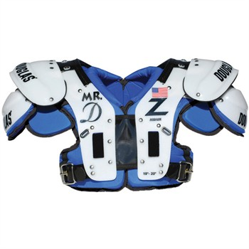 Douglas CP Series Mr DZ Adult Football Shoulder Pads - Offensive Linemen / Defensive Linemen