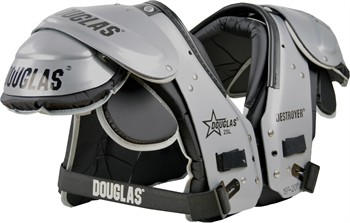 Douglas DP 25 Series Adult Football Shoulder Pads - Running Back / Defensive Back / Quarterback