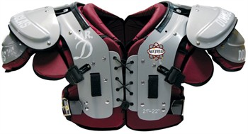 "Douglas Nitro NP ""Mr DZ"" Series Adult Football Shoulder Pads - Offensive Linemen / Defensive Linemen"