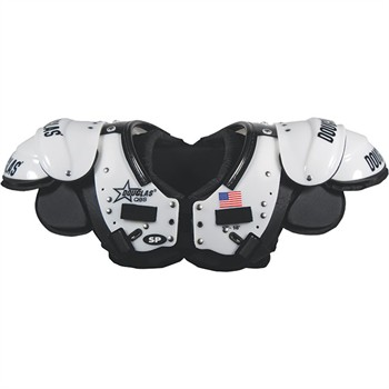 Douglas SP Series Adult Football Shoulder Pads - Quarterback / Wide Receiver / Defensive Back