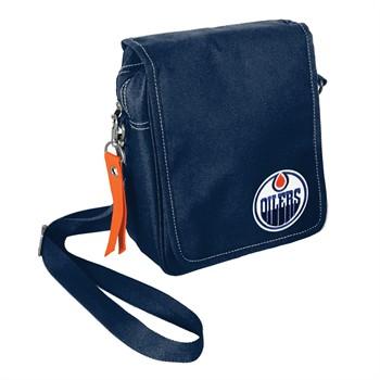 Edmonton Oilers Ribbon Satchel