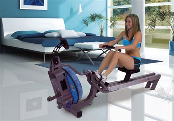 First Degree Fitness E-316 Fluid Rower Rowing Machine