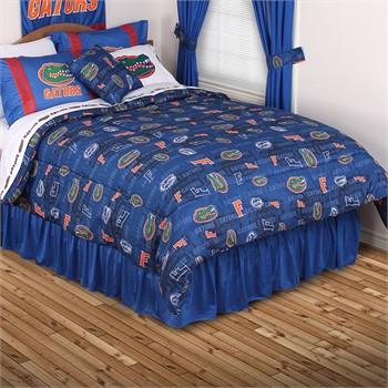 Florida Gators All Over Bed Comforter