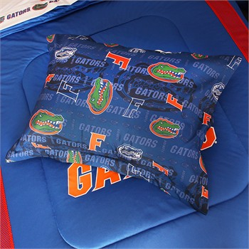 Florida Gators All Over Pillow Sham