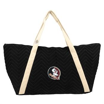 Florida State Seminoles Chevron Stitch Weekender Bag