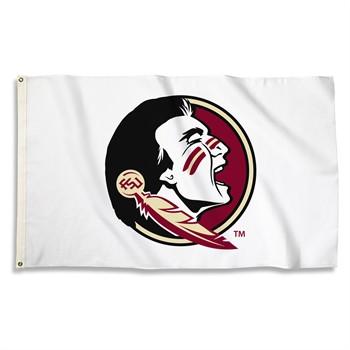 Florida State Seminoles White 3' x 5' Flag