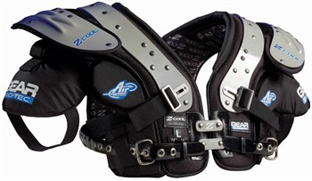 Gear Pro-Tec Z-Cool Pro Select Adult Football Shoulder Pads - OL / DL