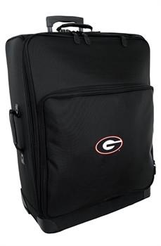 """Georgia Bulldogs NCAA Signature Series 27"""" Wheeled Upright Suitcase"""