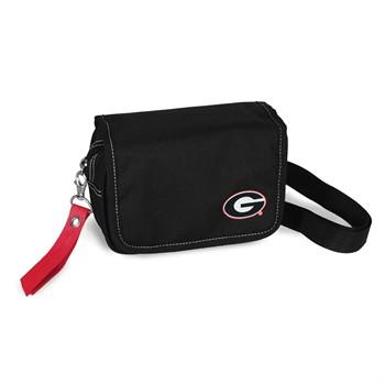 Georgia Bulldogs Ribbon Waist Pack Purse